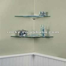 Qingdao Rocky high quality best price 3mm 4mm 5mm 6mm 8mm 10mm 12mm glass corner shelf