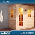 Hemlock hs-sr25sn cuarto de baño de lujo infrarrojo lejano sauna cabina