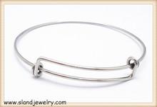 Nice quality Advanced technology stainless steel expandable bangle bracelets wholesale,basic style diy design
