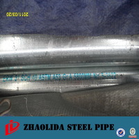 Black iron structural 40mm galvanized steel pipe properties