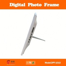 "promotion factory directly sale 10.2"" full mirror panel multimedia digital photo frame"