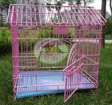 steel wire metal pet cage dog cage, metal pet carrier