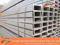 Canal c de acero perfil de la industria/perfiles de acero catálogo/de acero de construcción