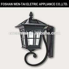 Outdoor Solar-powered wall lamp/solar energy lights/solar panels wall lamp