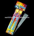 25 cm sin humo luces de bengala y de interior sin humo de fuegos artificiales