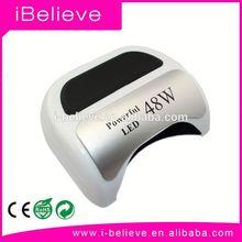 Professional ccfl led uv nail lamp 48w ccfl led nail lamp 18w with timer for nail salon