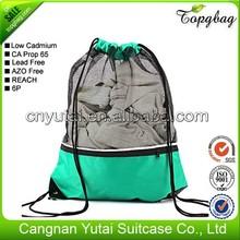 Good quality professional make wholesale cotton fabric drawstring bag