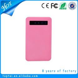 Shenzhen slim led mobile power supply
