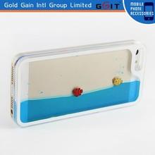 Ocean World Design for iPhone 5 Crystal Clear Hard Liquid Case