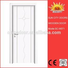 China manufacturer house design front MDF door SC-W071
