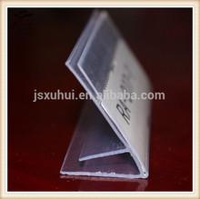 Extruded PVC Shelf Clips for Glass Shelves