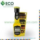 Corrugated board oil display rack, fragrance oil display, perfume oil display