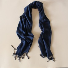 Black Evening Wraps and Shawls Male Scarf for Men
