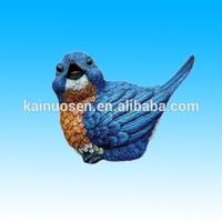 miniature polyresin birds