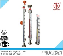 PTFE lined magnetic liquid level indicator/manufacturer/ completely isolated the liquid medium and the indicator