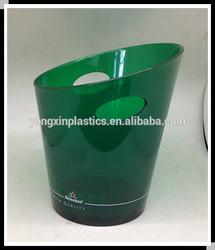 plastic Oblique mouth ice bucket