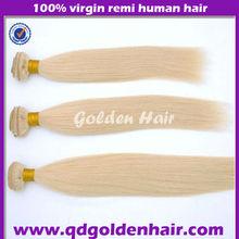 Indian Remi Straight Human Hair Single Drawn Machine Weft