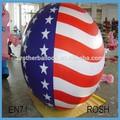 2014 Hot Sale jumping balão para o bebê, Publicidade balões de impressão com bandeira