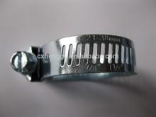 1 - 1/2 'Galvanized tipo americano braçadeira / combustível mangueira clip / WS WX braçadeira