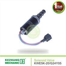 good quality KWE5K-20/G24Y05 valve pilot for Earth-moving machinery