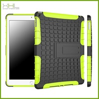 2015 NEW product TPU PC shockproof stand case for ipad air 2 case