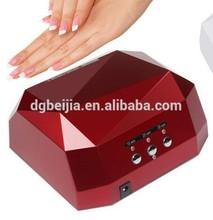 Gros bon marché professionnel ccfl lampe uv nail, Uv led ongles lampe avec lumineux couleur # BJ029