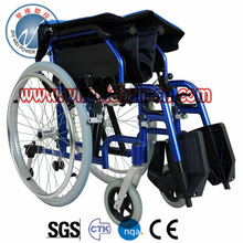 ZWW221 Zhiwei NC Aluminum Manual Wheelchair Quick release wheel Detachable Arm/Leg