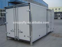 coated refrigerated van body dry cargo truck body