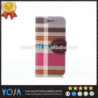Plaid pattern leather case for xiaomi mi4 quad core mobile phone bags, original case for xiaomi mi4,for xiaomi mi4 back cover