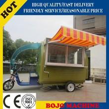 Fv-22g alimentos vans / china fábrica de bicicletas / mobile fritadeira comida carrinho