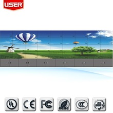 Network IP control 55 inch advertising lcd video wall display