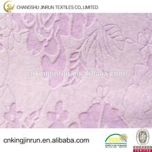 100% Polyester super soft upholstery Embossed velvet