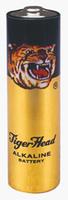 Original Tiger Head Brand Alkaline LR6 3646 AM-3 AA Size Metal Jacket Battery