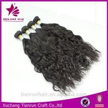 alibaba express fish wire hair extension brazilian human hair