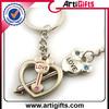 Custom cheap metal souvenir promotional item key ring fobs