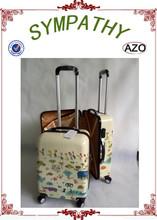 2015 new design children luggage customed print travel luggage