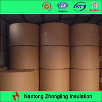 Insulation cable paper for motor winding insulation