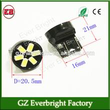 new car led auto light S25 1156 BA15S / 1157 BAY15D 5730 6SMD T20 T25 tuning light led brake turn lights