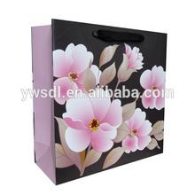 New Arrival Flower Series Paper Gift Shopping Bag