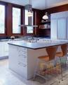 novo design moderno mdf de madeira armários de cozinha