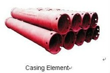 Casing Element of drilling parts for digging hole