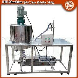 CE ISO Certificate 50-1000ml whitening cream filling machine