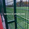 Enrejado& puertas tipo y tratamiento térmico de madera tratada a presión tipo twin doble alambre de la cerca de malla