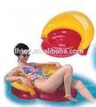 Plage gonflable de l'eau lounge chaise flotteur pour adultes