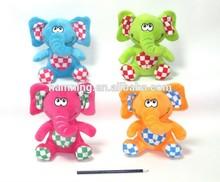 colorful stuffed cartoon plush panda toy with EN71l