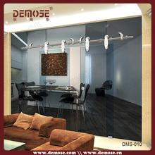 foshan sliding glass door design /glass partition sliding door bedroom