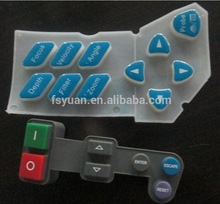 Custom Silicone Button Keypad / Silicone Numeric Keypad Manufacturer / Silicone Push Button