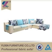 Foshan fabric sofa/high quality fabric sofa set