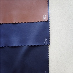 Soft hand feeling & Durable! Stretch and thin Pu faux leather for coat
