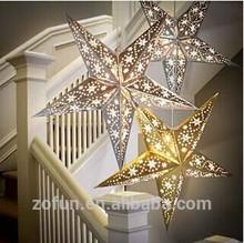 hot chrismas lanters paper stars decoration
